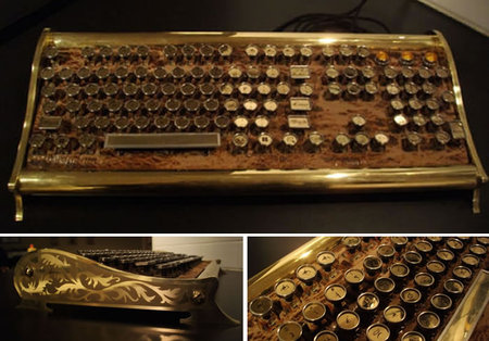 Steampunk-keyboard