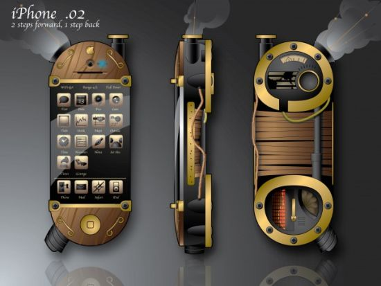 steampunk-iphone-concept